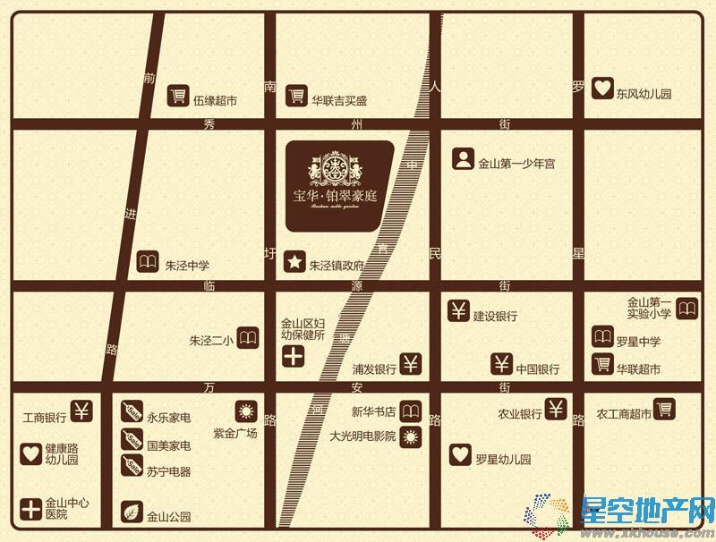 宝华铂翠豪庭交通图