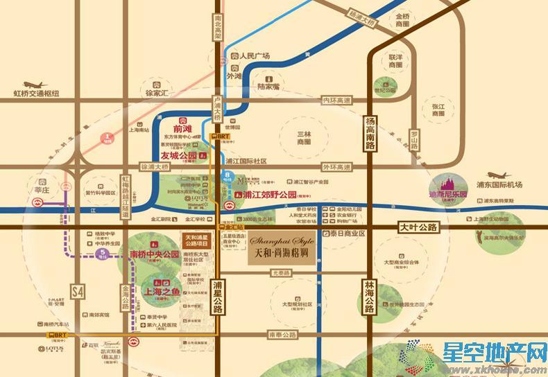 天和尚海格调交通图