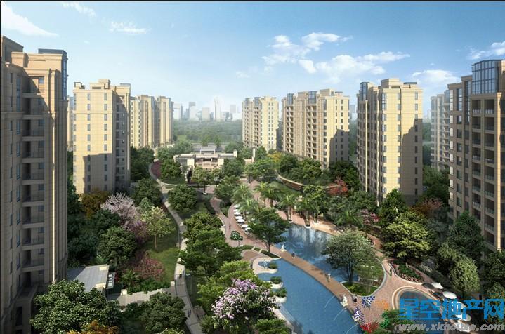 仁恒东郊花园效果图