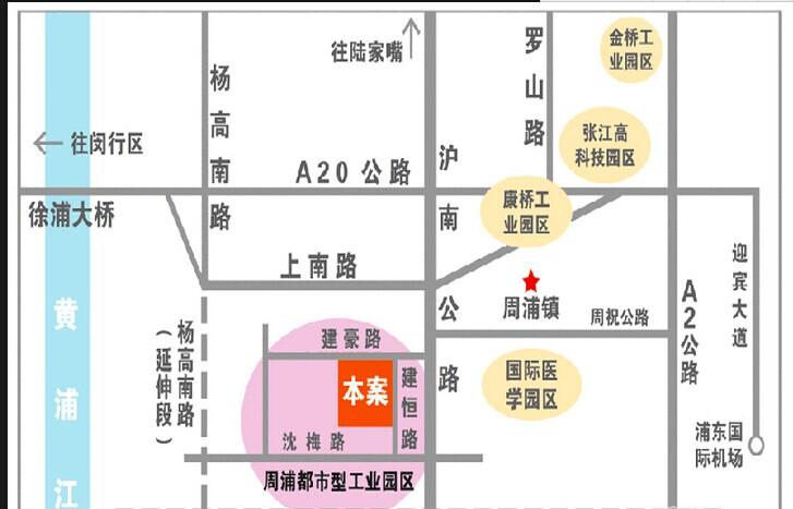 圣太企业园交通图