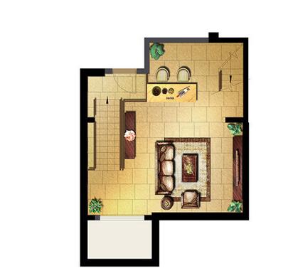 万科有山别墅三室三厅二卫