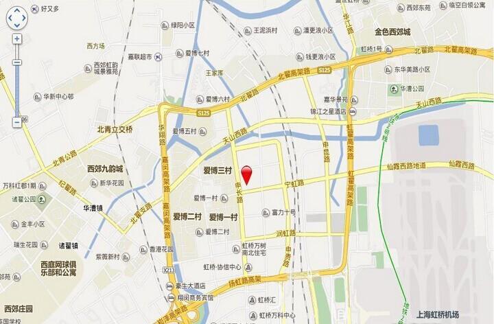 上海中骏广场交通图