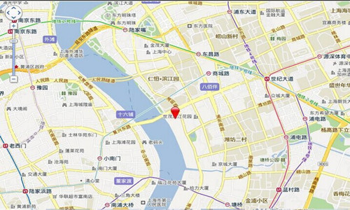 滨江凯旋门交通图