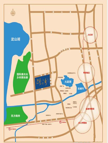 颐湾丽庭交通图