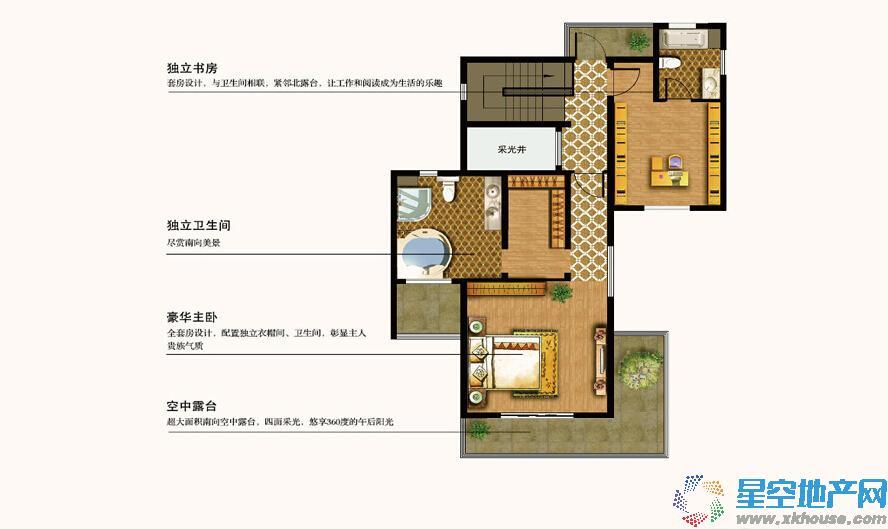 颐湾丽庭五室以上三厅五卫