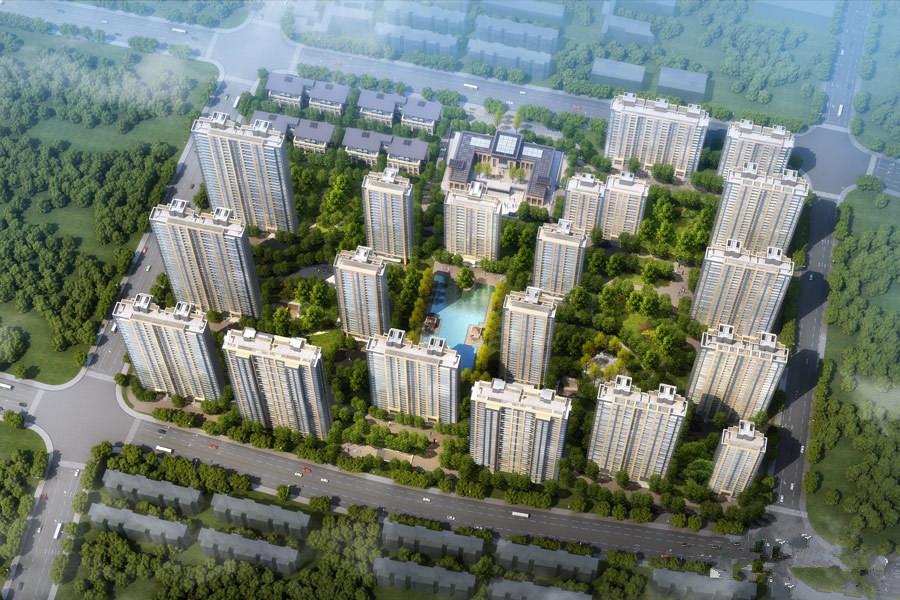 地产尚海郦景楼号图