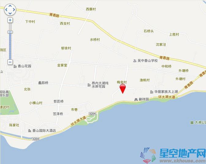 恒润太湖壹号交通图