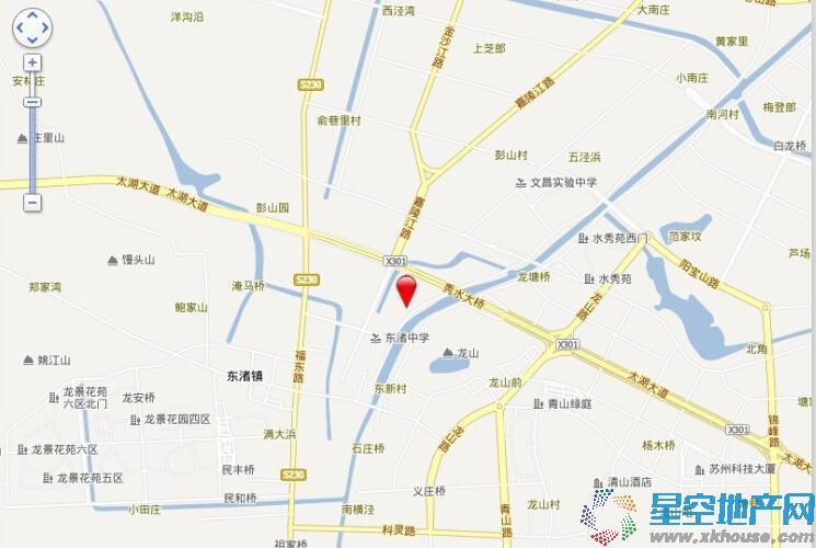 虹锦湾交通图