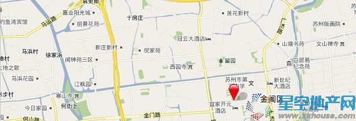 兴贤商业广场交通图