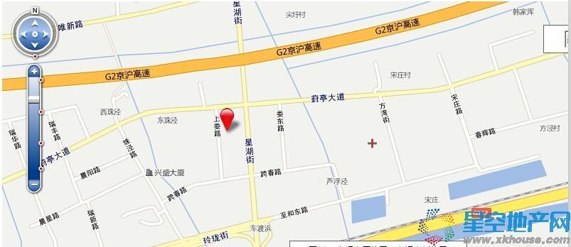 景悦星湖交通图