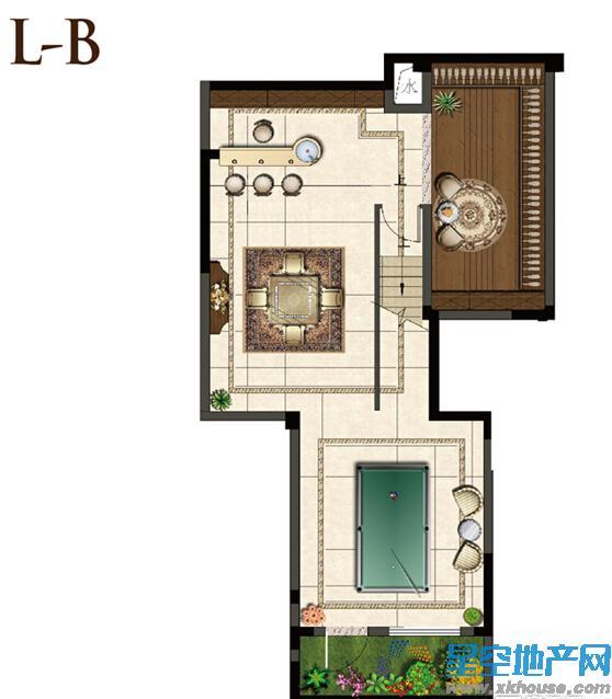景山玫瑰园三室二厅二卫