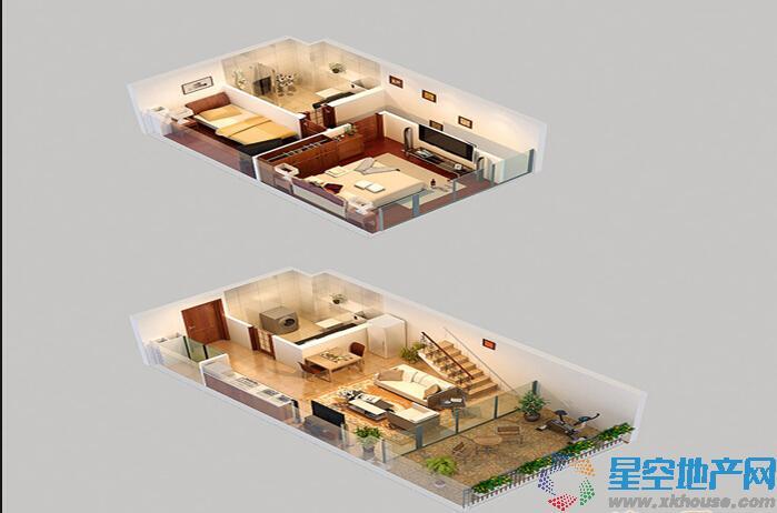 浒新158生活广场二室一厅二卫