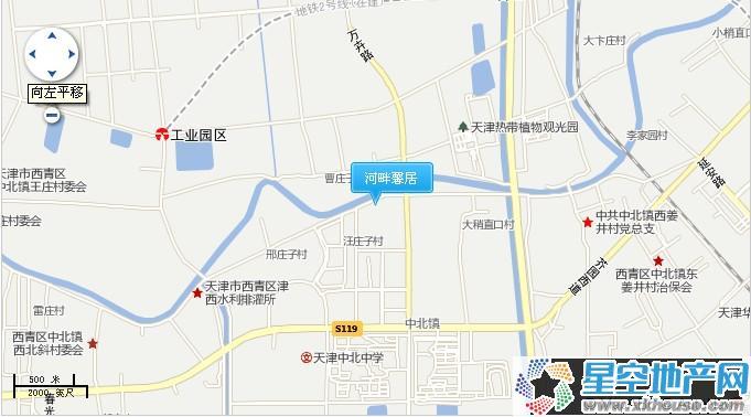 河畔馨居交通图