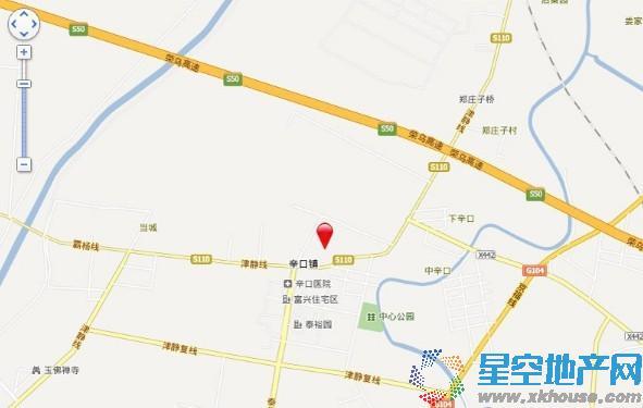 天津未来城交通图