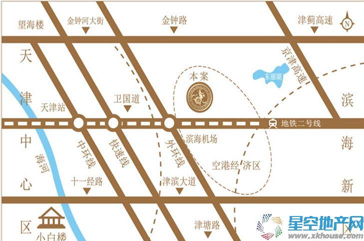 金泰丽湾交通图