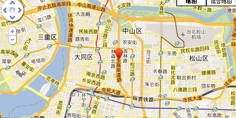 遠雄朝日交通图