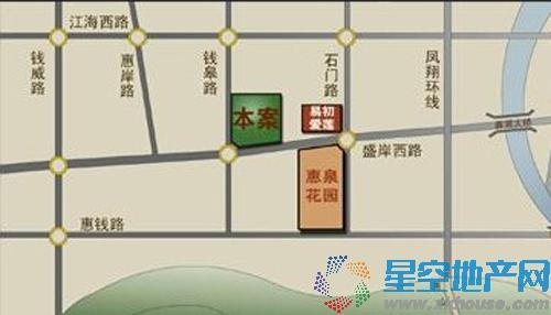 小天鹅品园交通图