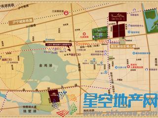 九龙仓时代上城交通图