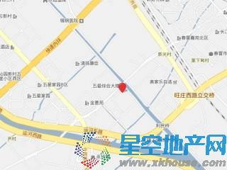 复地悦城交通图