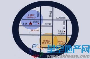 锋尚文创中心交通图