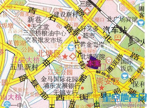 百乐和园交通图