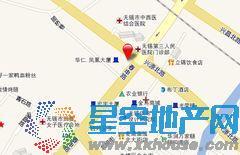 华仁凤凰城798街区交通图
