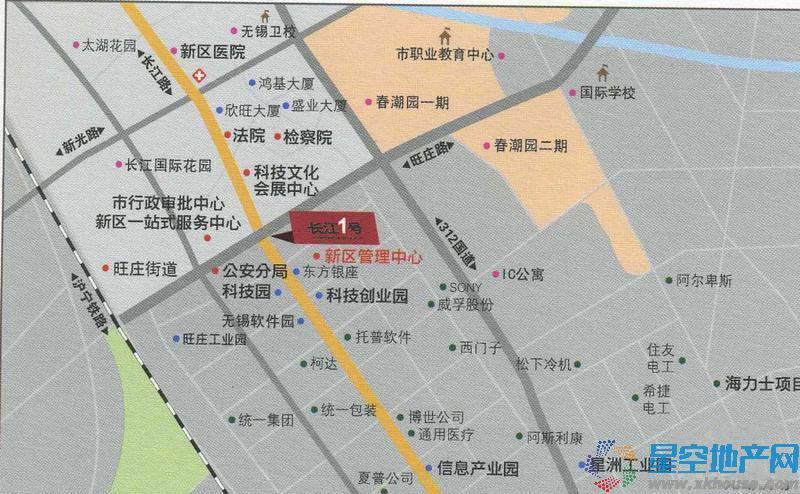 长江一号交通图
