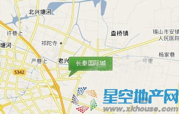 长泰国际社区交通图