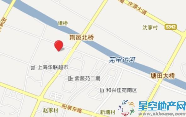 华润景城交通图