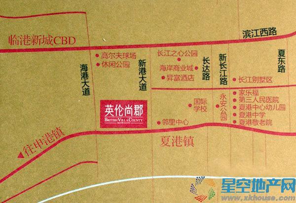 广昊英伦尚郡交通图