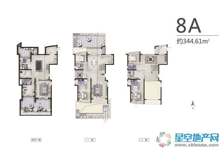 保利达江湾城五室以上五厅更多