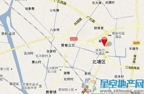 联东U谷无锡总部商务园交通图