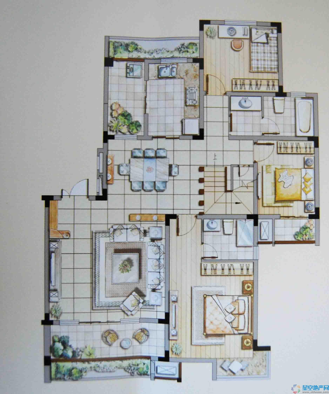 翠竹·芙蓉山庄五室以上二厅二卫