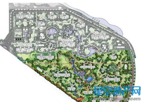 中邦城市花园楼号图