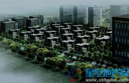 中国工业博览园工业设计中心效果图