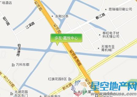 多友·嘉悦中心交通图