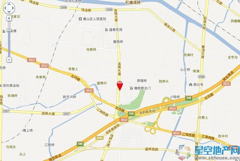 悦湖国际交通图