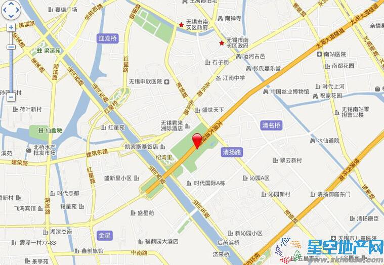 世贸公馆交通图