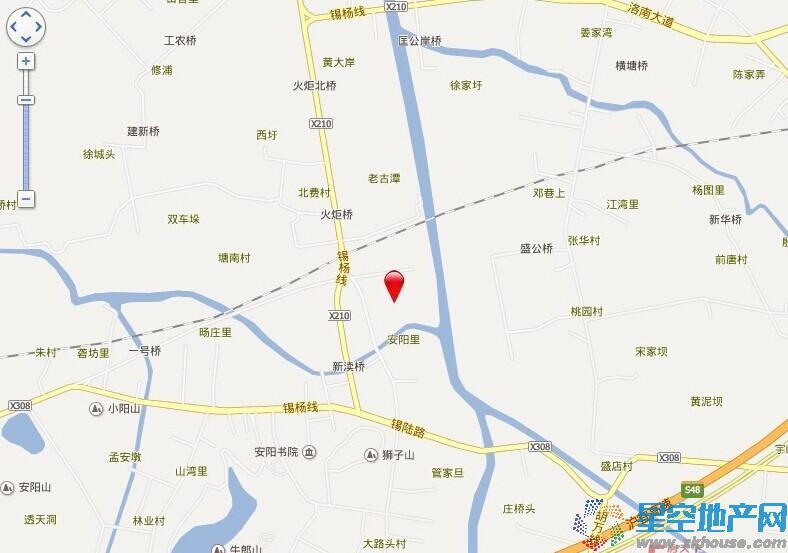 田园东方交通图