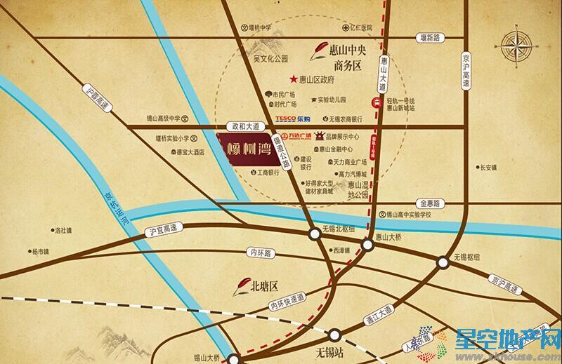 华润·橡树湾交通图