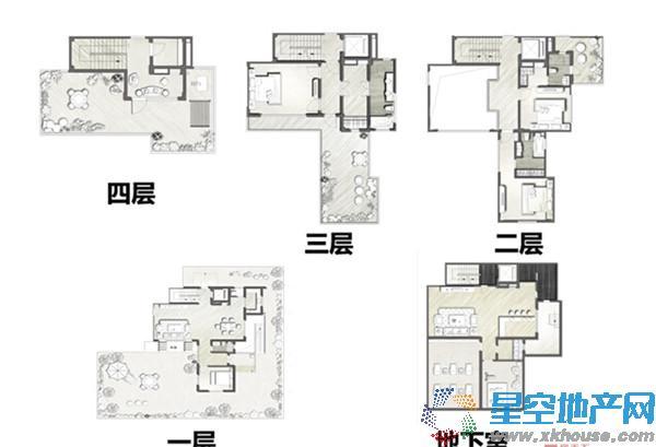 富力十号五室以上四厅四卫