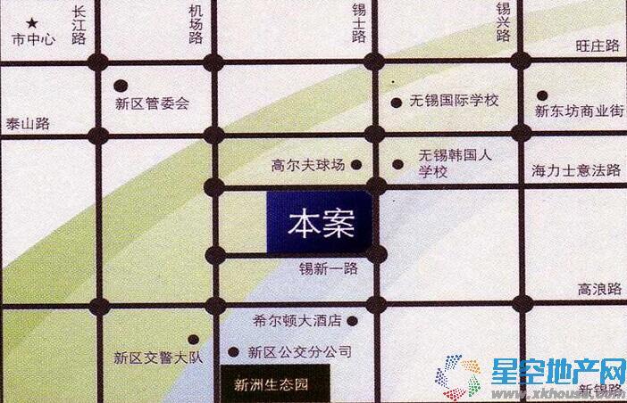 星洲科技商务园交通图