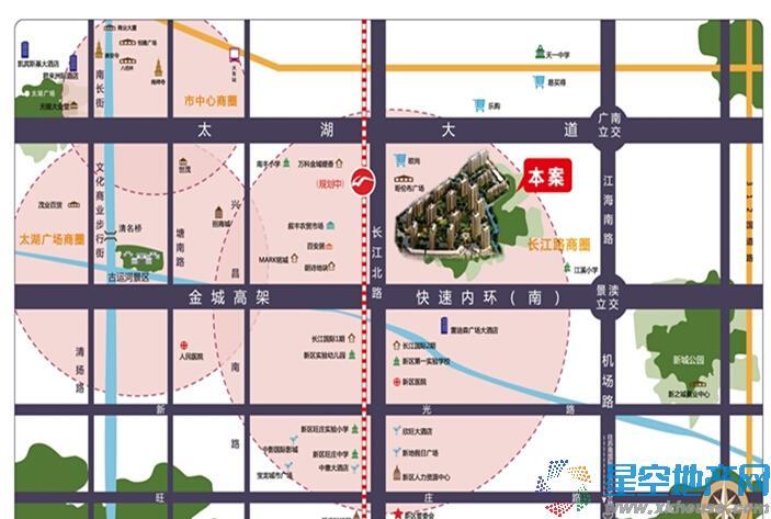 保利中央公园交通图