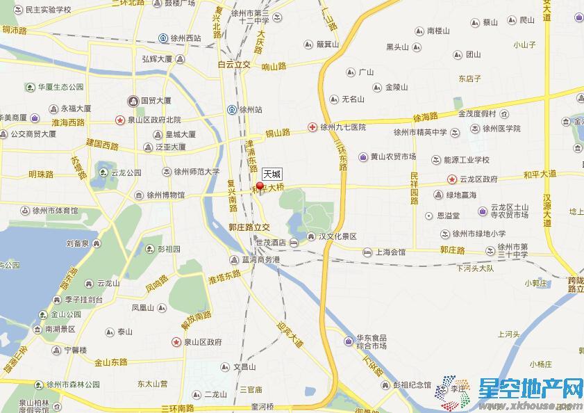 世茂东都·天城交通图