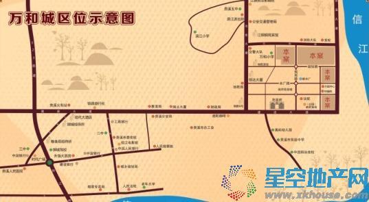 万和城交通图