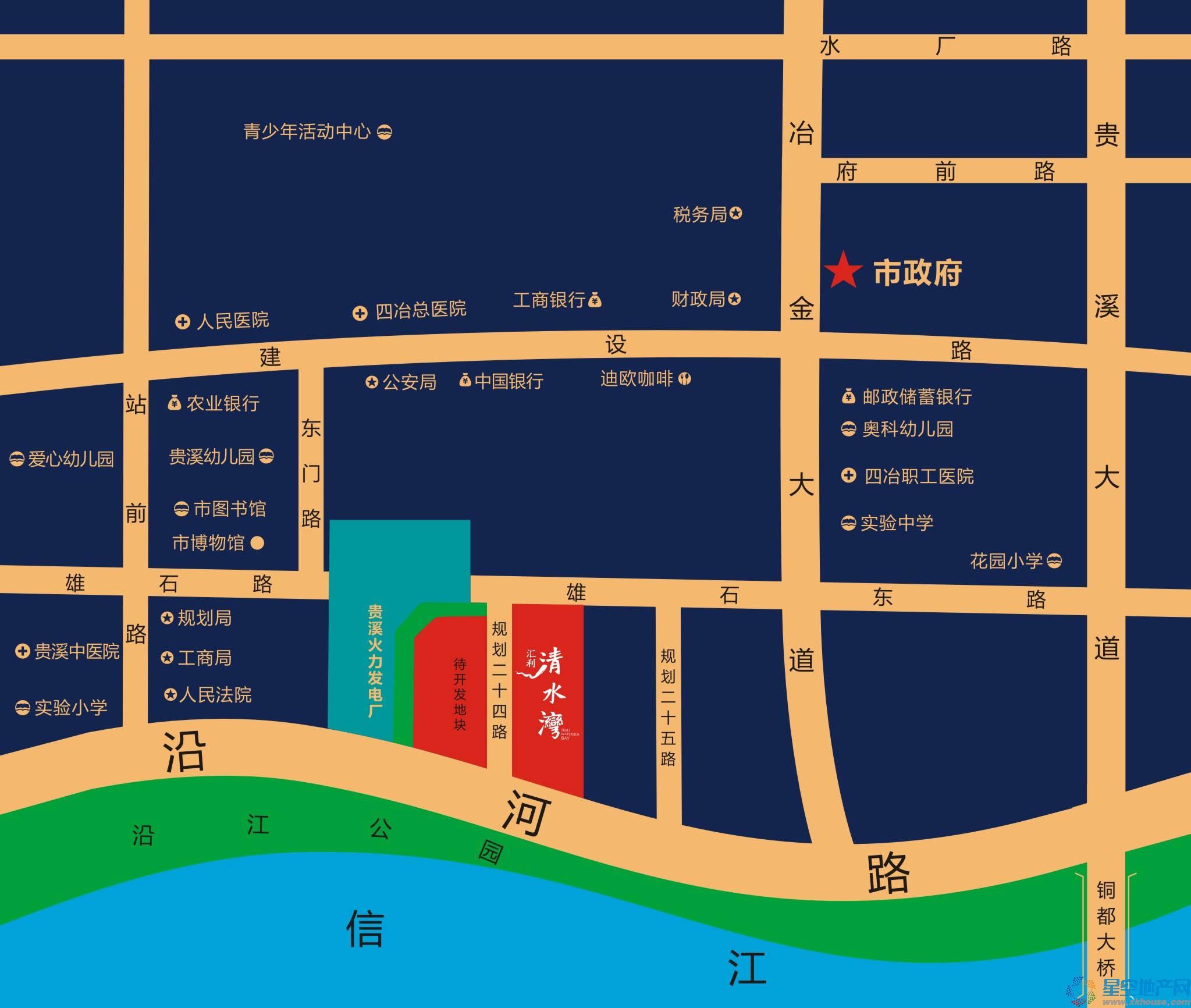清水湾交通图