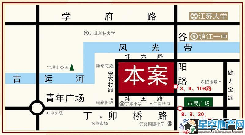 永隆城市广场交通图
