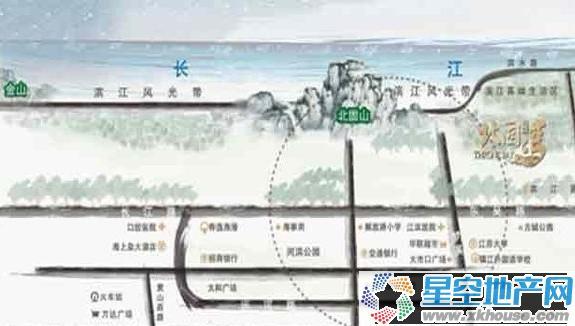 招商北固湾交通图