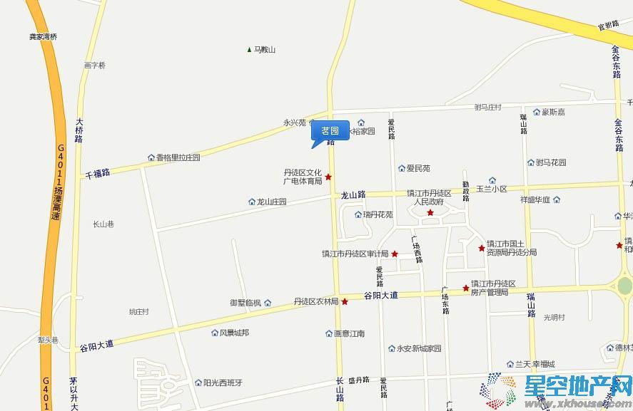 茗园交通图