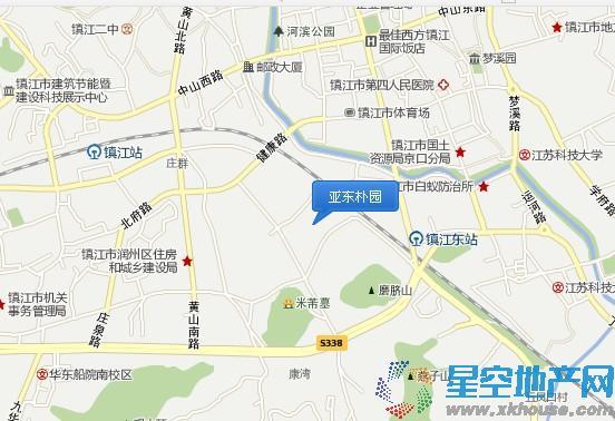 亚东朴园交通图